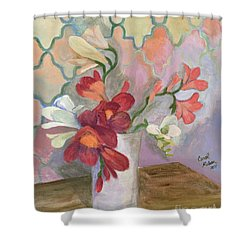 For Lisa Shower Curtain