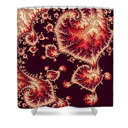 For Love Of Autumn Shower Curtain by Susan Maxwell Schmidt
