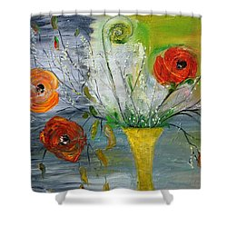 Shower Curtain featuring the photograph For Mom by Evelina Popilian
