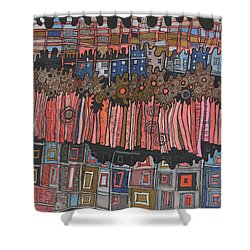 New Year's Day Shower Curtain