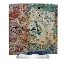 For The Love Of Circles 3 Shower Curtain