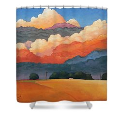 For The Love Of Clouds Shower Curtain