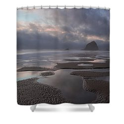 Forbidden Coast Shower Curtain