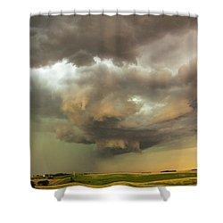 Forces Of Nebraska Nature 028 Shower Curtain