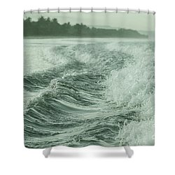Forces Of The Ocean Shower Curtain