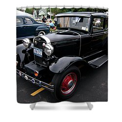 Ford 2102 Shower Curtain by Guy Whiteley