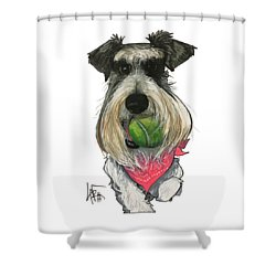 Ford 3235 Miley Shower Curtain