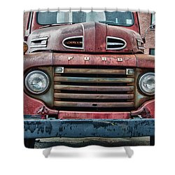 Ford 4623 Shower Curtain by Guy Whiteley