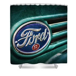Ford 85 Shower Curtain by Caitlyn Grasso