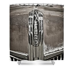 Ford Chrome Grille Shower Curtain by Marilyn Hunt