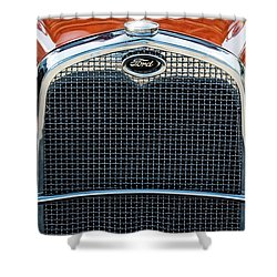 Shower Curtain featuring the photograph Ford Coupe by Brad Allen Fine Art