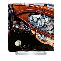 Shower Curtain featuring the photograph Ford Coupe IIi by Brad Allen Fine Art