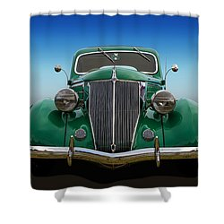 Shower Curtain featuring the photograph Ford Coupe by Keith Hawley
