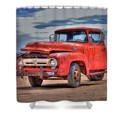 Ford F-350 Shower Curtain