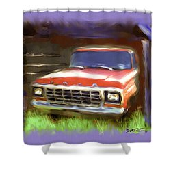 Ford F150 Shower Curtain