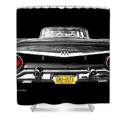 Ford Fairlane 500 Shower Curtain by Diana Angstadt