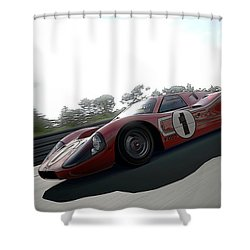 Ford Gt40 Mark Iv Shower Curtain