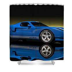 Ford Gt40 Shower Curtain by Walter Colvin