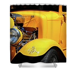 Shower Curtain featuring the photograph Ford Hot-rod by Jeremy Lavender Photography