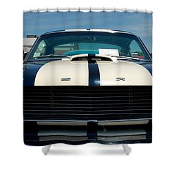 Ford Mustang 2 Shower Curtain by Mark Dodd