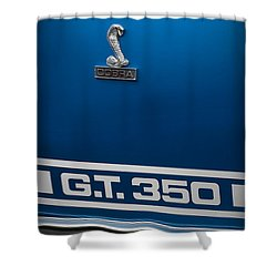 Ford Mustang G.t. 350 Cobra Shower Curtain