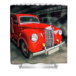 Shower Curtain featuring the photograph Ford Prefect by Charuhas Images