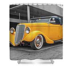 Ford Roadster Shower Curtain
