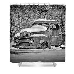 Ford Truck 2016-1  Shower Curtain