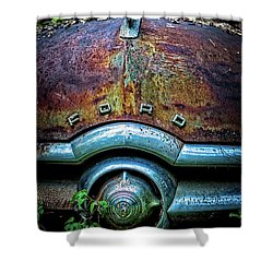 Ford Tudor Shower Curtain