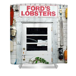 Fords Lobster Shower Curtain