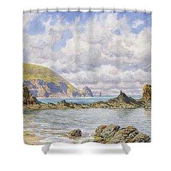 Forest Cove Shower Curtain by John Brett