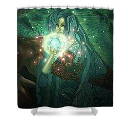 Forest Elf Shower Curtain