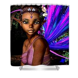 Forest Fairy Shower Curtain by Alexander Butler