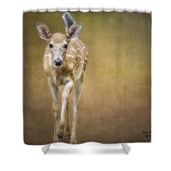 Forest Fawn Shower Curtain