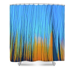 Shower Curtain featuring the photograph Forest Fire by Tony Beck