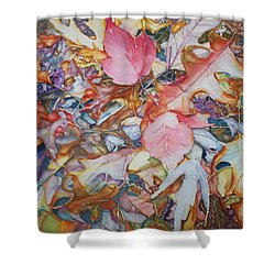 Forest Floor Tapestry Shower Curtain