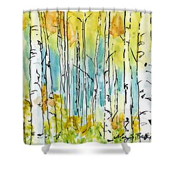 Forest For The Trees Shower Curtain