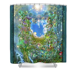 Forest Force Shower Curtain