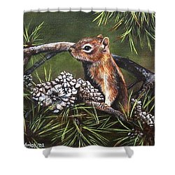 Forest Friend Shower Curtain