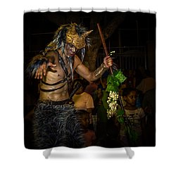 Forest Goblin Shower Curtain