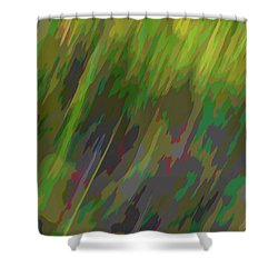 Forest Grasses Shower Curtain