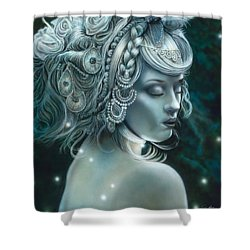 Forest Nymph Shower Curtain