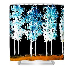 Forest Of Nightmares  Shower Curtain