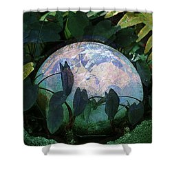Forest Orb Shower Curtain