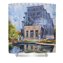 Forest Park - Jewel Box Saint Louis Shower Curtain