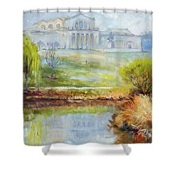 Forest Park -spring Shower Curtain