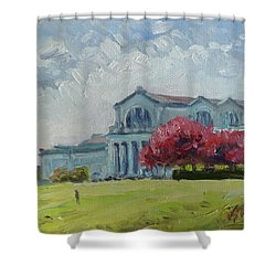 Forest Park Sunny Morning St.louis Shower Curtain