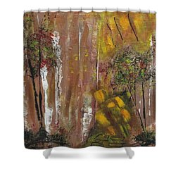 Forest Primeval Shower Curtain by Sharyn Winters