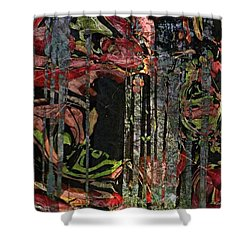 Forest Spirits Shower Curtain by Kathie Chicoine