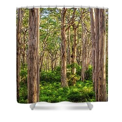Forest Twilight, Boranup Forest Shower Curtain